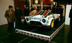 1971. aasta Lancia Stratos HF (Bertone kujustus) oli välja pandud rallivariandis, aga seda valmistati ka ringrajasõiduks.
